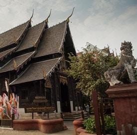 Wat Phan Tao de Chiang Mai