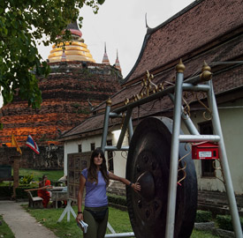 Templo Wat Ratchaburana, Phitsanulok