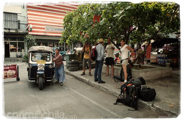 La llegada a Chiang Mai