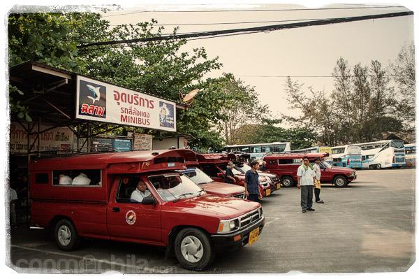 Y los taxistas esperando