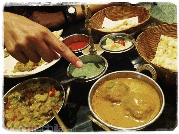 La comida india. MmMmMmmm