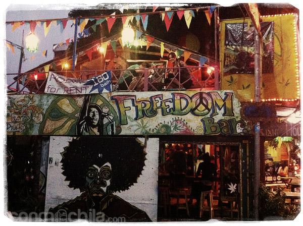 En el Freedom bar
