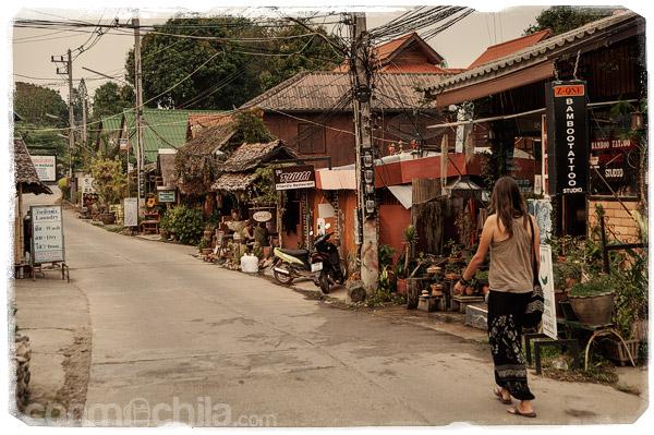 De paseo por las calles de Pai
