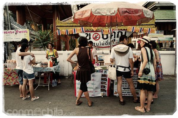 Los puestos de comida callejeros