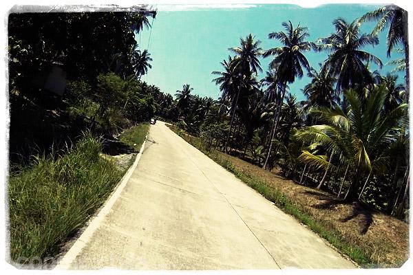 Carretera de Ko Phangan