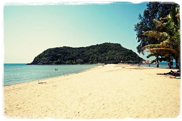 La playa de Haad Mae Had