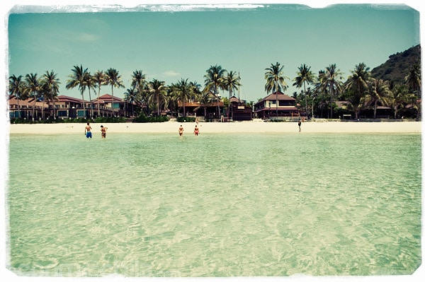 La espectacular playa de Haad Rin Nok