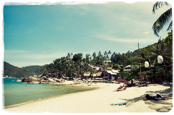 La playa de Ao Thon Nai