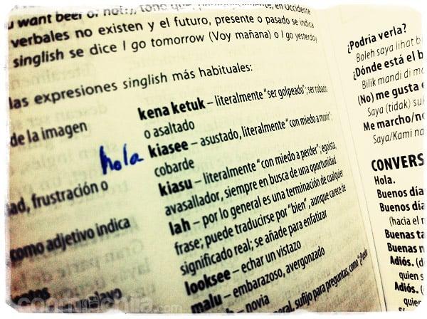 Aprendiendo algunas palabras...
