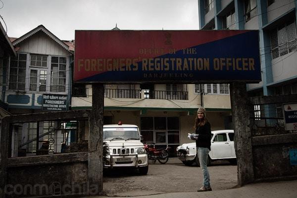 La oficina de registro de extranjeros donde conseguir el permiso para entrar en Sikkim