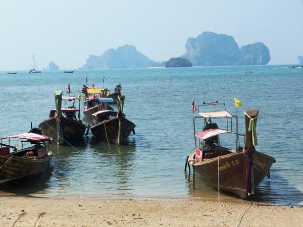 Itinerario de viaje a Tailandia: Playa de Tonsai