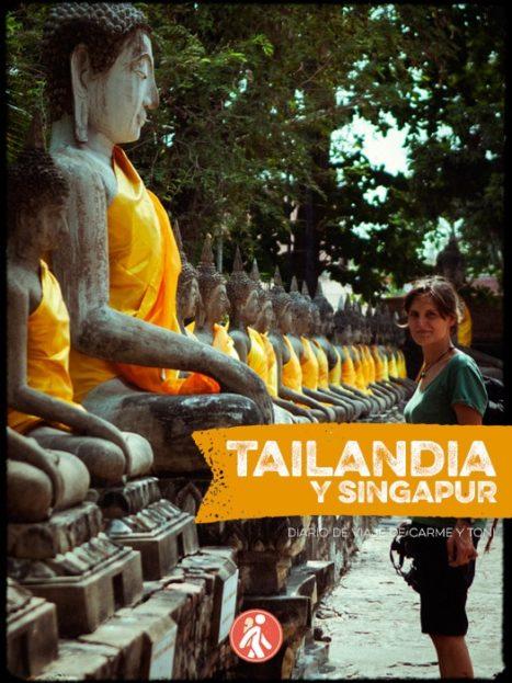 Portada del libro Tailandia y Singapur con mochila
