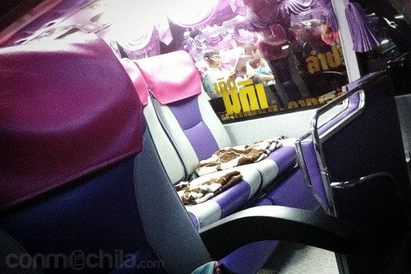 Detalle de los asientos