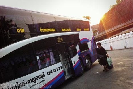 Bus Chiang Mai a Kanchanaburi
