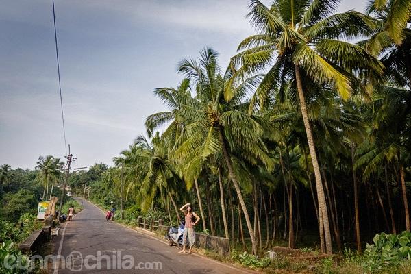 En moto por Goa