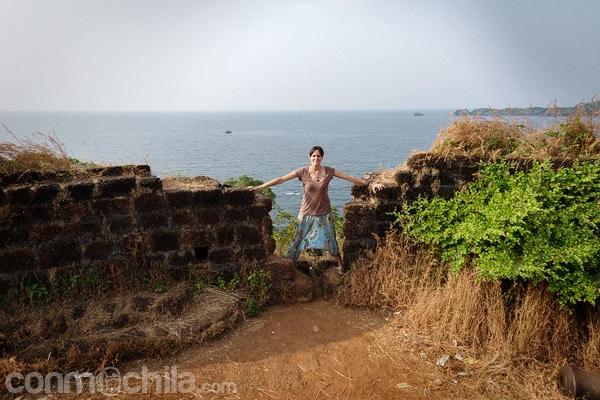 El fuerte de Cabo da Rama