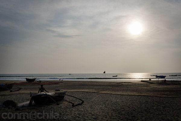 La playa de Agonda