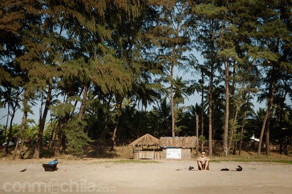 La solitaria Turtle beach