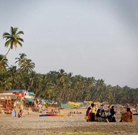 Palolem Beach en Goa