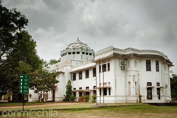 El museo Jetavana de Anuradhapura
