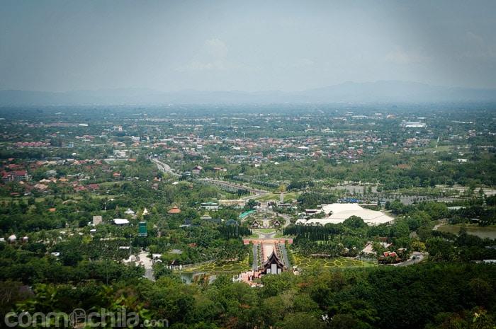 Las vistas de Chiang Mai