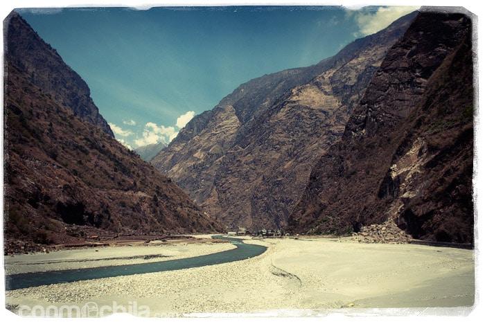 El hermoso valle donde se encuentra Tal