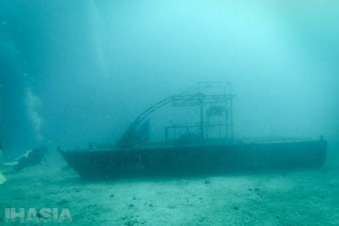 El catamarán sumergido