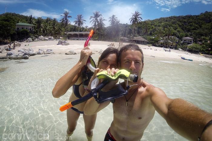 ¡¡Preparados para hacer snorkel!!