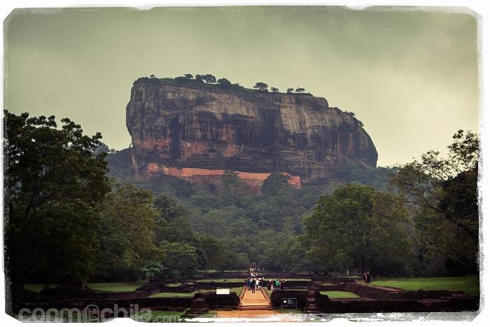 La impresionante Roca del León de Sigiriya