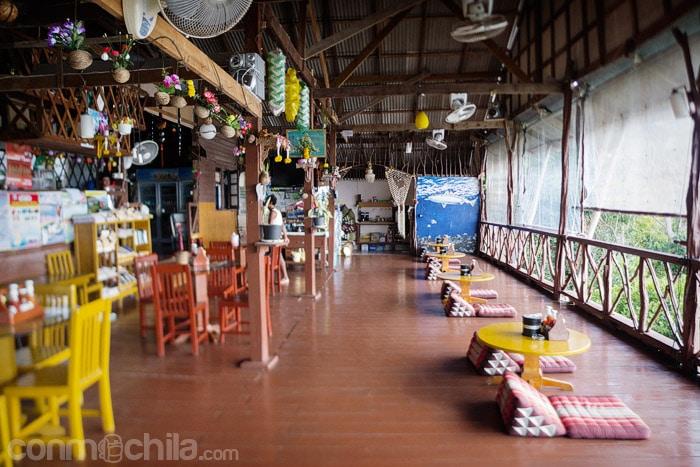 El restaurante de Ok 2 Bungalows