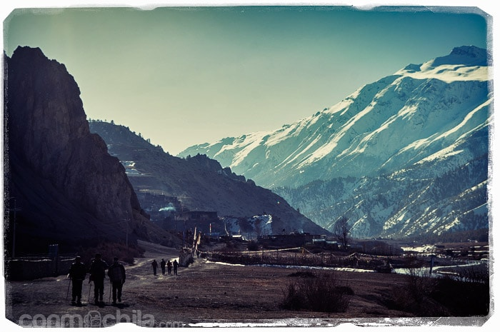 Empieza la caminata hacia el Ice Lake