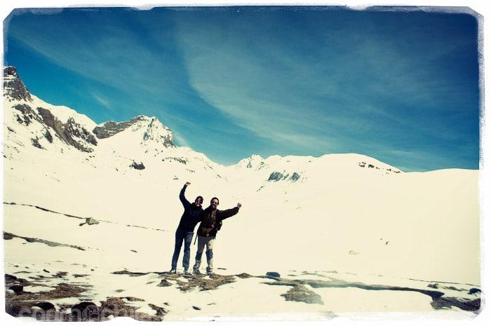 ¡Y por fin en el Ice Lake!