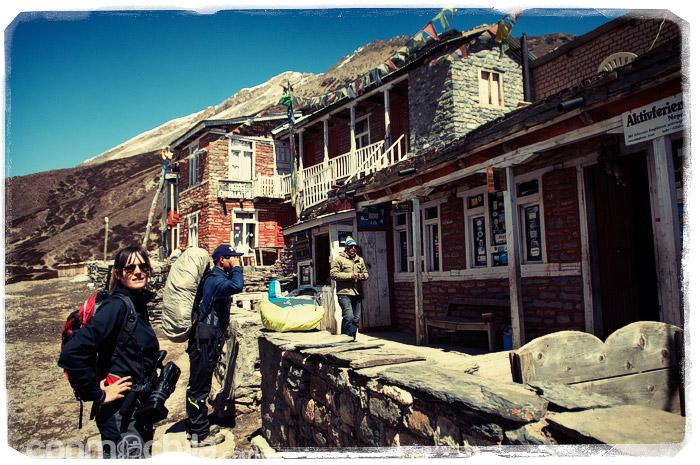 Nuestro hotel en Churi Ledar