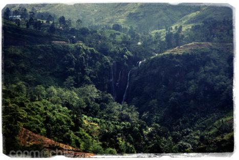 Cascadas por Nuwara Eliya