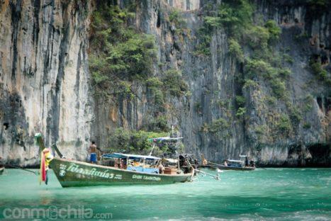 Escena típica de Tailandia