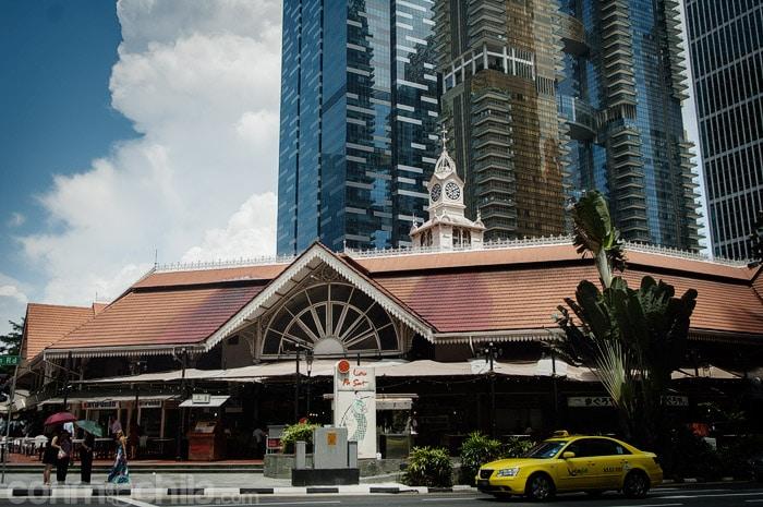 La entrada al Lau Pa Sat