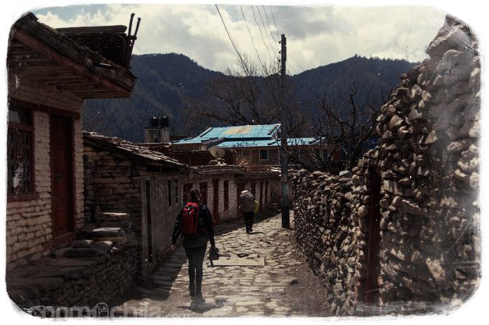 El pueblo donde paramos a comer