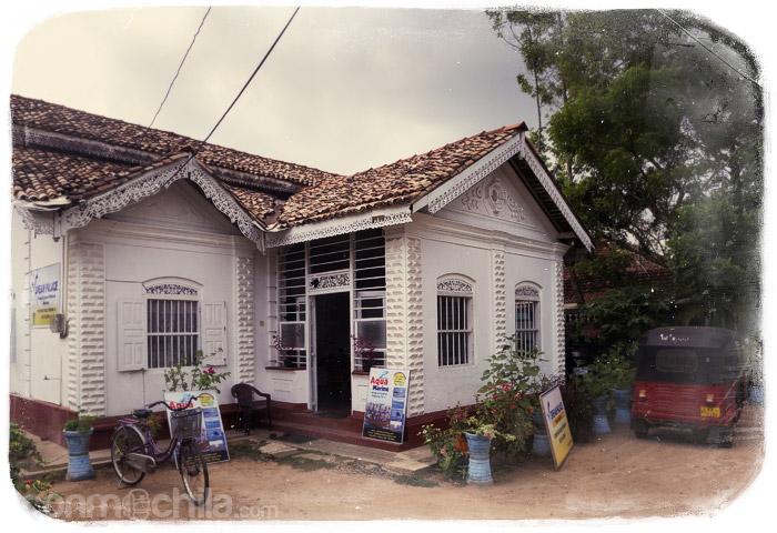 Nuestra guesthouse en Mirissa
