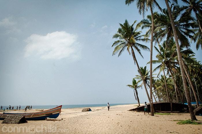 Una de las playas que vimos