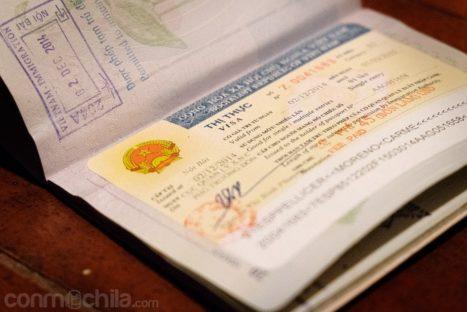 Visado de Vietnam para 3 meses