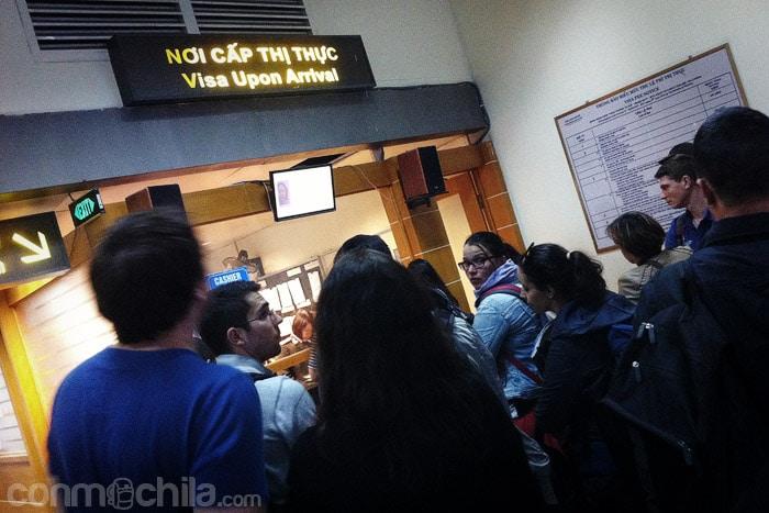 Oficina de visados del aeropuerto de Hanoi