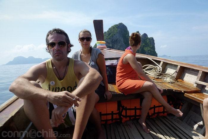 Empezando la excursión Four islands trip