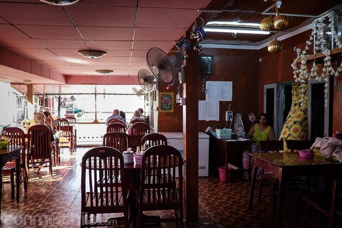 El comedor del restaurante