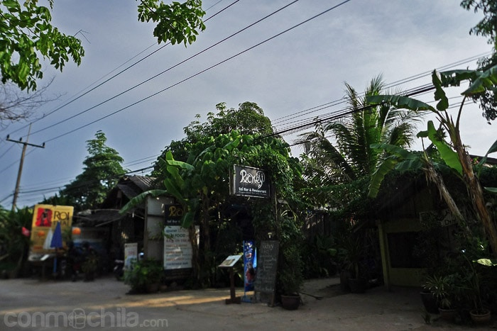 La entrada al Rickey bar