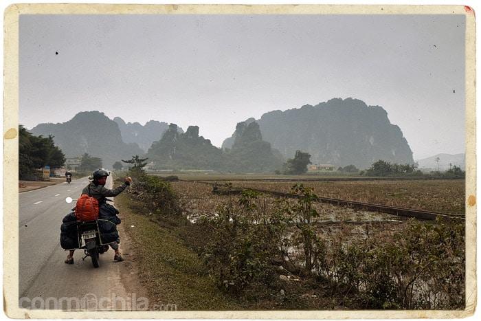 La llegada a Mai Chau