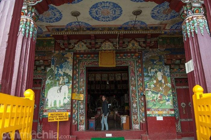 Otra imagen del monasterio