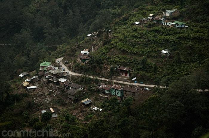 Vistas de los poblados de los alrededores
