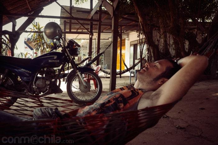Parada a descansar