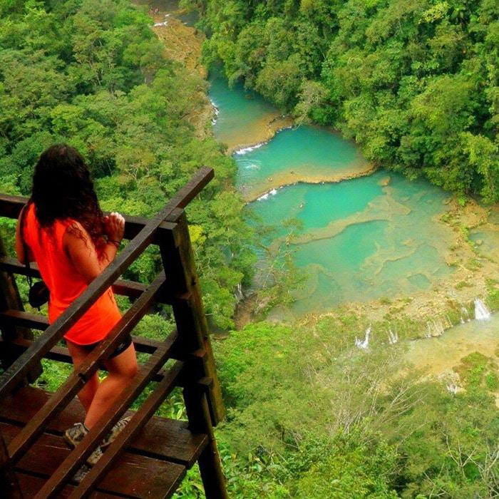 En la selva de Guatemala