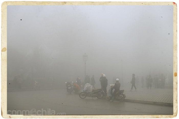 ¿Habíamos hablado de niebla?
